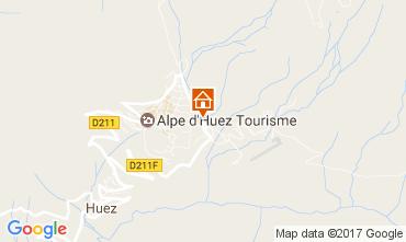 Map Alpe d'Huez Studio apartment 82866