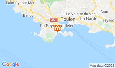 Map Six Fours Les Plages Villa 96805