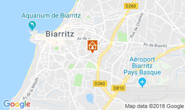 Map Biarritz House 83182