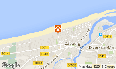 Map Cabourg Apartment 78575