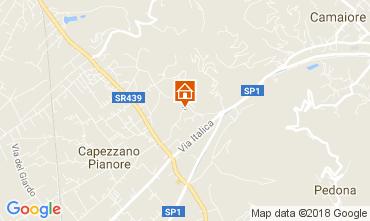 Map Camaiore Villa 110506