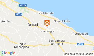 Map Ostuni Villa 63775