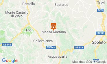 Map Todi Apartment 116547