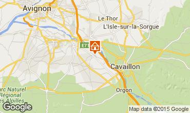 Map Avignon House 100030