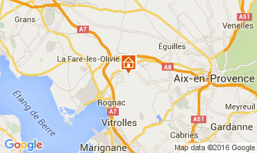 Map Marseille Villa 80278