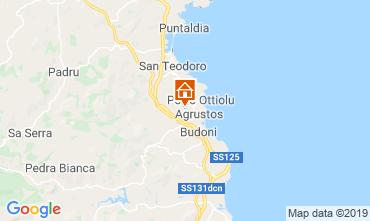Map Budoni Villa 92714