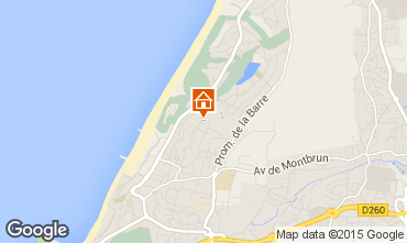 Map Anglet Apartment 54337