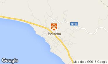 Map Bolsena Apartment 79320