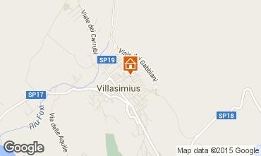 Map Villasimius Apartment 95140