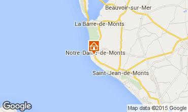 Map Notre Dame de Monts House 18224