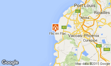 Map Flic-en-Flac Bungalow 69426