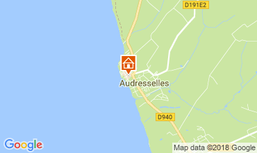 Map Audresselles Self-catering property 115601