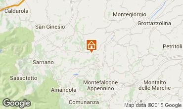 Map Penna San Giovanni Villa 53506