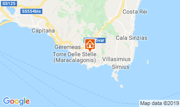 Map Villasimius Villa 59840