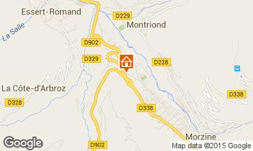 Map Morzine Flat 82300