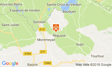 Map Régusse House 114148
