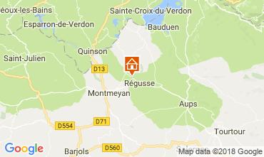 Map Régusse House 114148