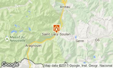 Map Saint Lary Soulan Chalet 102168