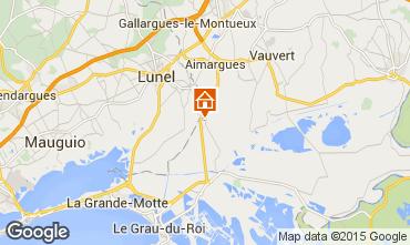 Map Aigues Mortes Villa 85121