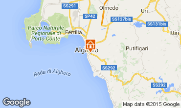 Map Alghero Apartment 45136