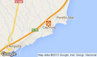 Map L'ampolla Villa 93809