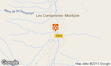 Map Les Contamines Montjoie Flat 931