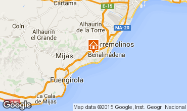 Map Benalmádena Villa 9621
