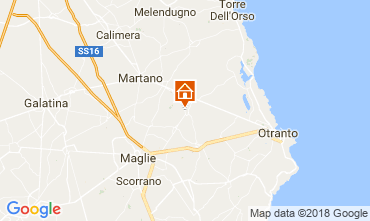 Map Otranto B&B 115402