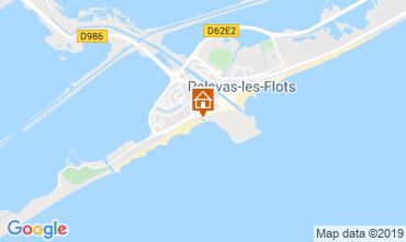 Map Palavas-les-Flots Flat 29561