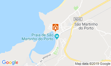 Map São Martinho do Porto Apartment 76478