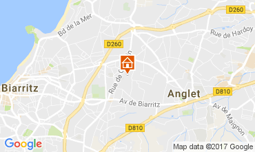 Map Biarritz House 88875
