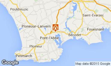 Map Pont l'Abbé Mobile home 53456