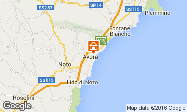 Map Avola Apartment 62144