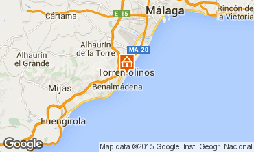 Map Torremolinos Studio apartment 32036