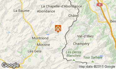 Map Avoriaz Chalet 97037