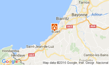 Map Biarritz Apartment 6432