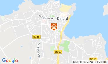Map Dinard Apartment 102434