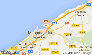 Map Mohammedia Apartment 90167