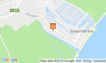 Map Empuriabrava House 116096