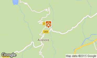 Map Aussois Apartment 73771