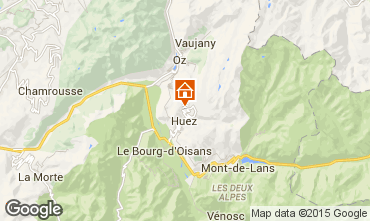 Map Alpe d'Huez Apartment 42