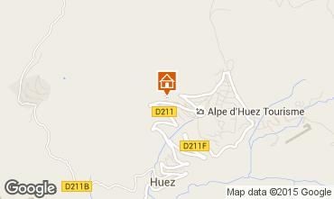 Map Alpe d'Huez Apartment 42