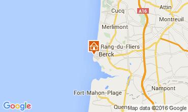 Map Berck-Plage Studio apartment 78213