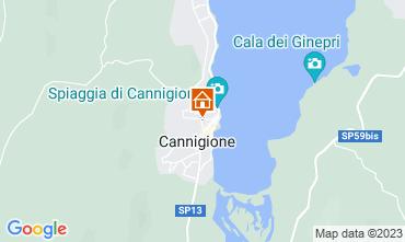 Map Cannigione Apartment 87120