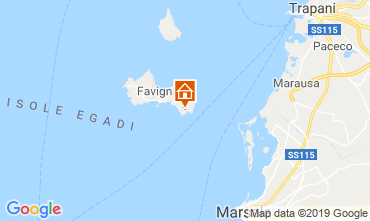 Map Favignana Apartment 115691
