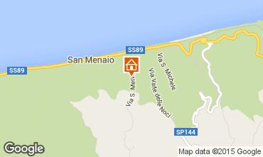 Map Rodi Garganico Apartment 43227