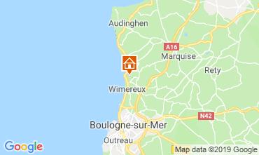 Map Wimereux House 8913
