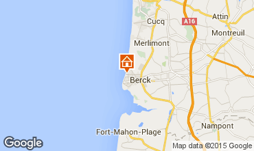 Map Berck-Plage House 97709