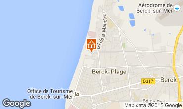 Map Berck-Plage House 97709