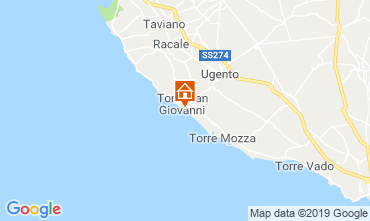 Map Ugento - Torre San Giovanni Apartment 104132